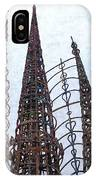 Watts Towers 2 - Los Angeles IPhone Case
