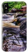 Wausau Whitewater Course Side View IPhone Case
