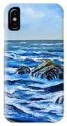 Waves And Foam IPhone Case