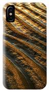 Waves Of Gold IPhone Case