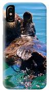 Waving Otter IPhone Case