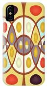 Wavy Geometric Abstract IPhone Case