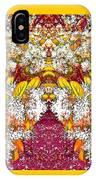 Waxleaf Privet Blooms In Autumn Tones Abstract IPhone Case
