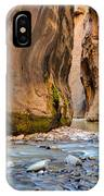 Way Of The Narrows IPhone Case by Adam Mateo Fierro
