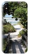 Way To The Beach IPhone X Case