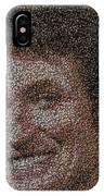 Wayne Gretzky Hockey Puck Mosaic IPhone Case
