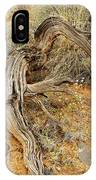 Weather Tree And Wildflowers IPhone Case