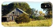 Weathered Barn In Fall IPhone Case