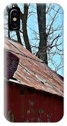 Weathered Barn Roof- Fine Art IPhone Case