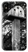 Weathered Bird House IPhone Case