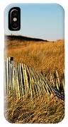 Weathered Dune Fence. IPhone Case