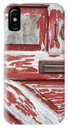 Weathered Red Door 1 IPhone Case
