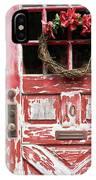 Weathered Red Door 3 IPhone Case