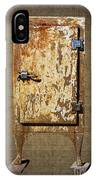 Weathered Rusty Refrigerator IPhone Case