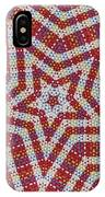 Weave A Star And Rainbow IPhone Case