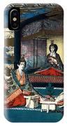 Wedding Of Crown Prince Yoshihito And Princess Kujo Sadako, 1900 IPhone Case