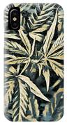 Weed Abstracts Four IPhone Case
