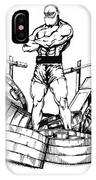 Weight Lifter IPhone Case
