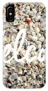 Welcome Seashell Background IPhone Case