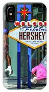 Welcome To Fabulous Hersheys Sign IPhone Case
