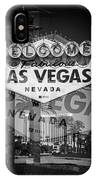 Welcome To Vegas Xiv IPhone Case