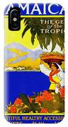 Wellcome To Jamaica IPhone Case