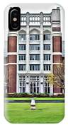 Wellesley College Tower Court IPhone Case