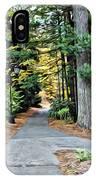 Wellesley College Walkway IPhone Case