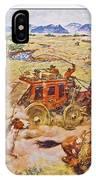 Wells Fargo Express Old Western IPhone Case