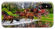 Wells Fargo Stagecoach IPhone Case