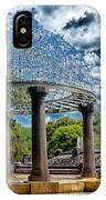 Wellspring Fountain - Council Bluffs Iowa IPhone Case