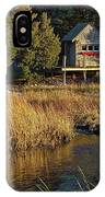 West Falmouth Boathouse IPhone Case