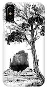 West Mitten Butte IPhone Case
