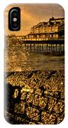 West Pier Splash IPhone Case