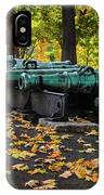 West Point Fall Leaves IPhone Case