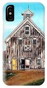 West Road Barn - All Rights Reserved IPhone Case