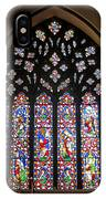 West Stained Glass Window Christ Church Cathedral 1 IPhone Case