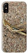 West Texas Hopper IPhone Case