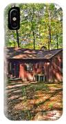 West Virginia Cabin IPhone Case