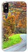 West Virginia Curves IPhone Case