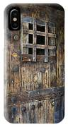 Western Rustic Door IPhone Case