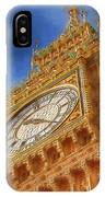 Westminster Clock Tower IPhone Case