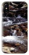 Rocks And Water In Autumn IPhone Case