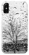 Wet Car Window B IPhone Case
