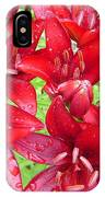 Wet Lilies IPhone Case