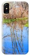 Wetlands Viewing Area In Chatfield State Park IPhone Case