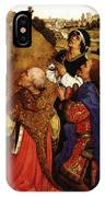 Weyden Bladelin Triptych  Right Wing  IPhone Case