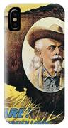 W.f.cody Poster, 1908 IPhone Case