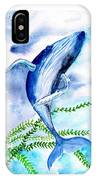 Whale 6 IPhone Case