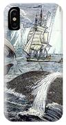 Whaling, 1833 IPhone Case
